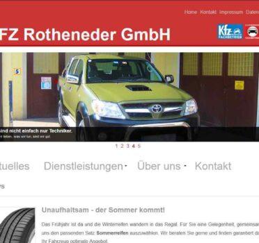 Screenshot Kfz Rothender (2014)