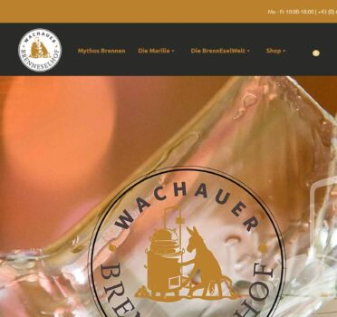 Screenshot Wachauer BrennEselHof (2015)