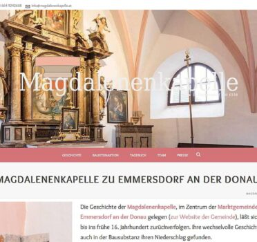 Abb. Screenshot Magdalenenkapelle (2015)